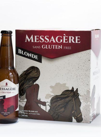 Messagère Blonde - 6 Pack